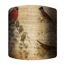 PTM Images 10-0212 Birds Lamp Shade | The Mine