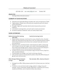 Medical Assistant Instructor Resume Medical Assistant Job Gorgeous Pictures Of Resumes