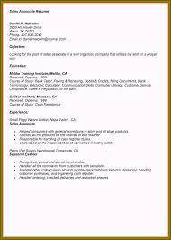 Sales Associate Qualifications Sales Associate Job Description Resume Example New Release 7