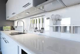 kitchen white glass backsplash. How A Glass Backsplash Will Give Your Kitchen New Lease On Life White