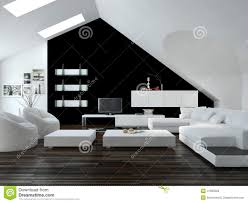 For Black And White Living Room Black And White Living Room Royalty Free Stock Photography Image