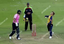 Adam Zampa Essex bowling action during ...