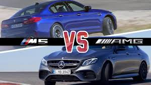 BMW Convertible bmw m5 vs mercedes e63 : BMW M5 (2018) vs. E63 AMG (2017) - Which Car is Better? - YouTube
