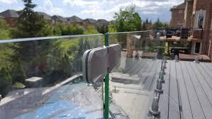 frameless glass deck railing systems irrational crystal rail gallery home ideas 42