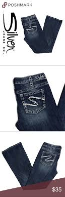 Silver Jeans Co Size Chart Silver Jeans Aoki Bootcut Jeans Brand Silver Jeans Aoki