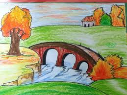 kids scenery of nature drawing for 3 3 960x720 how to draw scenery in simple steps