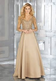 Image result for RICH BROWN SATIN GOWN