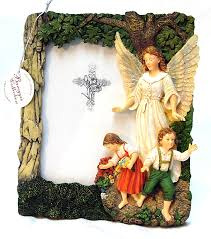 guardian angel al picture frame with free st peter postcard