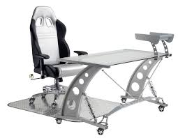 pitstop gt office chair desk combo one mission direct