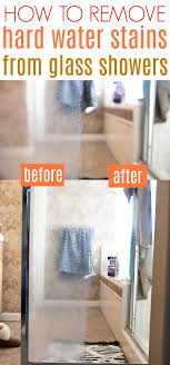 how to remove hard water stains from glass a few simple steps tools and