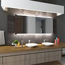 Bilderdepot24 Beleuchteter LED Spiegel Badspiegel Wandspiegel Mit  Beleuchtung   Hannover   110x70 Cm   LED