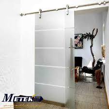 interior glass barn doors. Luxury European Interior Glass Sliding Barn Doors Stainless Steel Hardware