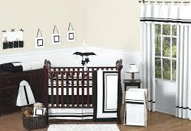 black and white baby girl crib bedding sets brown nursery charlie