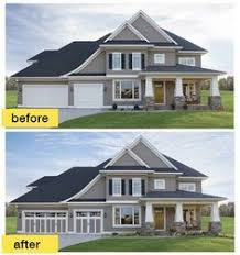 before and after garage door google search garage door paint garage door colors