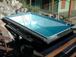 free standing fibreglass swimming pools. Interesting Standing Free Standing Pool Installation In Fibreglass Swimming Pools