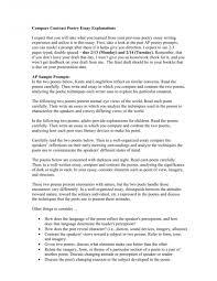 004 Essay Example Poetry Alevel Course Work Thatsnotus