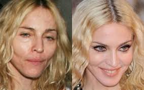 worst celebrities without makeup