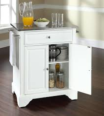 Crosley Furniture Kitchen Island Crosley Furniture Newport Natural Wood Top Portable Kitchen Island