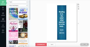 Design Bookmarks Create Beautiful Bookmarks With Graphicsprings
