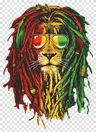 Rasta Lion Image Background Reggae Hd ...