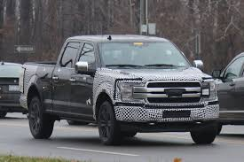 Spy Shots: Ford's New Look 2018 F-150 Pickup Truck Caught on Road ...