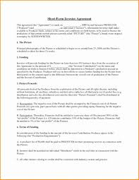 Equity Investment Agreement Template Lobo Black