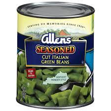 italian cut green beans seasoned southern style