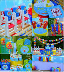 pool party supplies.  Party Summer Pool Party With So Many Really CUTE IDEAS Via Karau0027s Ideas  Karau0027sPartyIdeas And Supplies