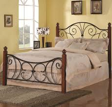 braden iron bed wesley. Spacious Bedroom Rod Iron Bed Frame Single Metal Wrought At Queen Headboard Braden Wesley E