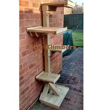 samuel stands at 5 6 170cm and is our premium mid height wall klimber made from decking and planed timbers samuel features two smaller platforms and