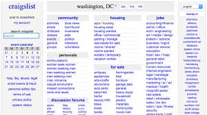 five alternatives to craigslist where to in d c right now eater dc