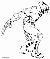 Caught in a gamma bomb explosion while trying to save the life of a discover these incredible hulk coloring pages. Printable Wolverine Coloring Pages For Kids