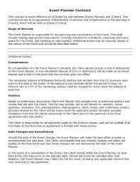 Basic Contract Outline Sample Contract Templates In Word Basic Contract Template