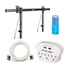 wirelogic wl 26 65 kit ultra slim mount and cable kit