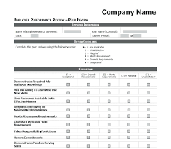 Performance Review Template Word template Performance Review Template Word 1