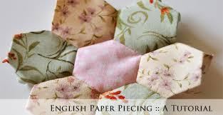 Paper Piecing Flower English Paper Piecing Hexagon Flower Tutorial Joyous Home