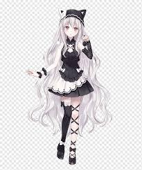 Lihat ide lainnya tentang gambar anime, gambar, animasi. Anime Female Long Hair Drawing Anime Black Hair Manga Chibi Png Pngwing