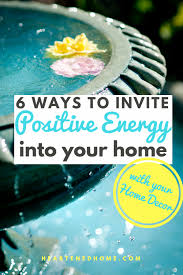 positive energy in your home with feng shui