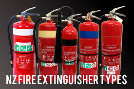 Fire Extinguisher Types Nz Fire Protection Online