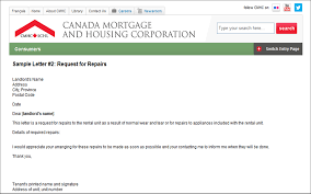 Cmhc Worksheets And Sample Letters For Renters Lawnow Magazine