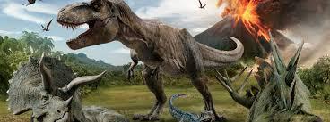 Dinosaurus Behang Dinoworld