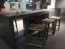 modern counter height table. Modern Kitchen Island - Counter Height Stools From Wood Table