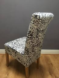 chair covers. grey \u0026 white paisley chair cover covers r
