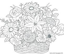 Flowers Printable Coloring Pages Flower Coloring Pages Spring