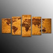 best price for landscape world map modern canvas print abstract painting wall art no frame 5pc to melbourne manufacturer on wall art painting melbourne with best price for landscape world map modern canvas print abstract
