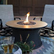 propane patio fire pit. Rectangular Outdoor Fire Pit Lovely Red Ember Meridian 43 In Round Propane The Patio N