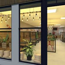 Coffee shop plan with roomsketcher, it's easy to create a beautiful coffee shop plan. Modern Cafe Plans And Decoration Architectural Cafe Designs By Planner 5d