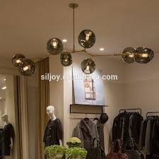 contemporary lighting fixture lindsey adelman globe from roll and hill lamp suspension light pendant lamp for