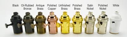antique brass light bulb sockets specification