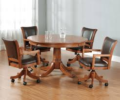 Hillsdale Dining Table Hillsdale Park View Round Flip Top Gaming Dining Table Wayside